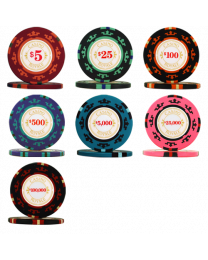 James Bond casino chips