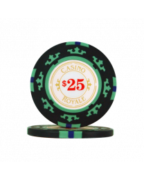 James Bond casino chips $25