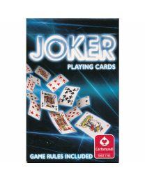 Joker Playing Cards Cartamundi blue