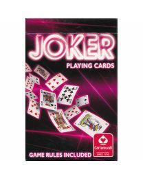 Joker Playing Cards Cartamundi red