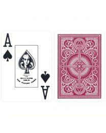 KEM Plastic Playing Cards Red