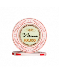 Ascona ceramic casino chips 100.000