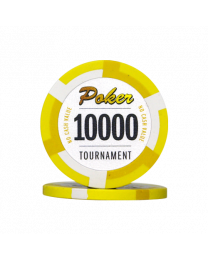 Poker chips Las Vegas tournament 10000