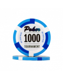 Poker chips Las Vegas tournament 1000