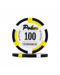 Poker chips Las Vegas tournament 100