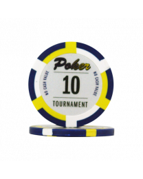 Poker chips Las Vegas tournament 10