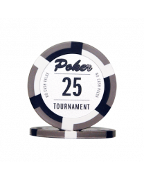 Poker chips Las Vegas tournament 25