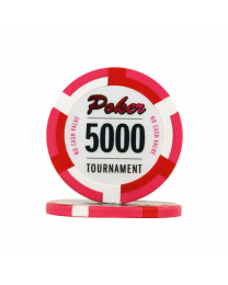 Poker chips Las Vegas tournament 5000