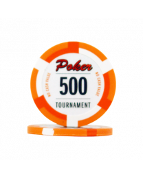 Poker chips Las Vegas tournament 500