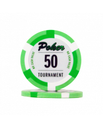 Poker chips Las Vegas tournament 50