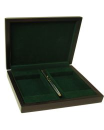 Luxury storage box for cards with pen