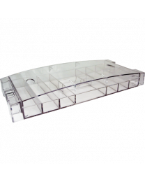 Acrylic Chip Tray with lid for 300 chips