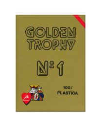 Modiano Golden Trophy Cards Red