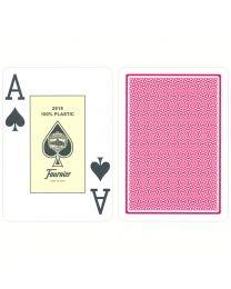 Fournier Jumbo Poker Cards Red