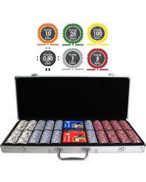 Play Money Poker Euro Set 1000+ Chips