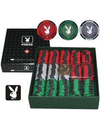 Playboy premium poker chip set 300