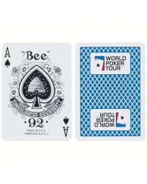 Playing Cards World Poker Tour Blue