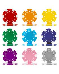Dice poker chips