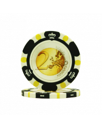 Poker chips Euro design €2