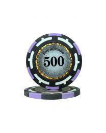 Macau Poker Chips Five Hundred