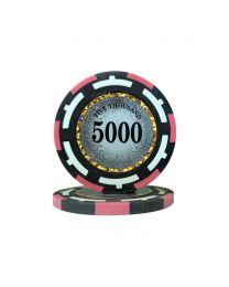 Macau Poker Chips Five Thousand
