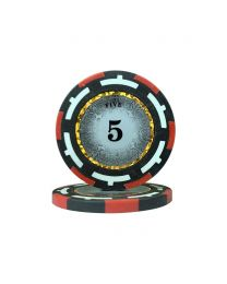 Macau Poker Chips Five