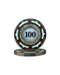 Macau Poker Chips One Hundred