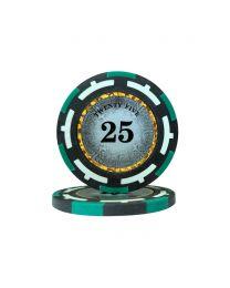 Macau Poker Chips Twenty Five