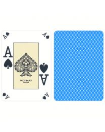 Poker Index Casino Playing Cards Modiano Light Blue