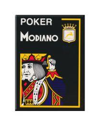 Modiano Poker Cristallo Nero Plastica