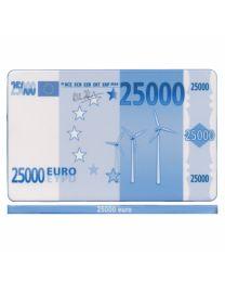 Poker plaque 25000 Euro