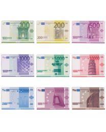 Euro poker plaques