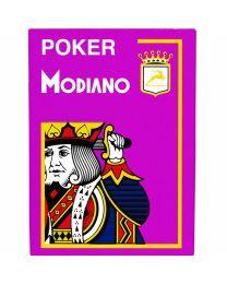 Modiano Poker Cristallo Viola Plastica