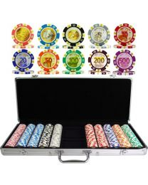 Poker Set Euro Design 500 Chips