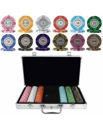 Poker Set Monte Carlo 300 Chips