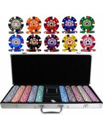 Poker Set Royal Flush 500