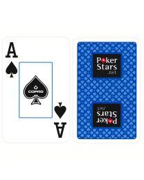 COPAG Plastic Playing Cards PokerStars Blue