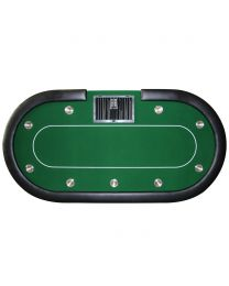 Poker Table Cash Game Green