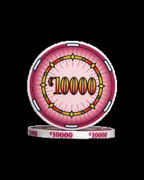 Ceramic poker chips classics €10000