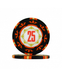 Pokerchips Carta Mundi 25