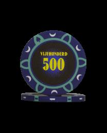 Poker chips tournament 500