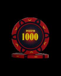 Poker chips tournament 1000