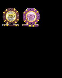 Euro poker chips