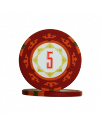 Carta Mundi poker chips