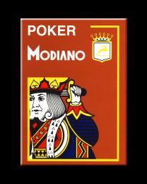 Modiano Poker Cristallo Marrone Plastica