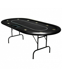 Poker Table Cash Game Black