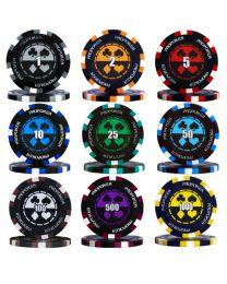Pro poker chips