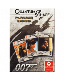 Quantum of Solace playing cards