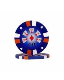 Royal Flush Poker Chips 10