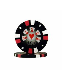 Royal Flush Poker Chips 100